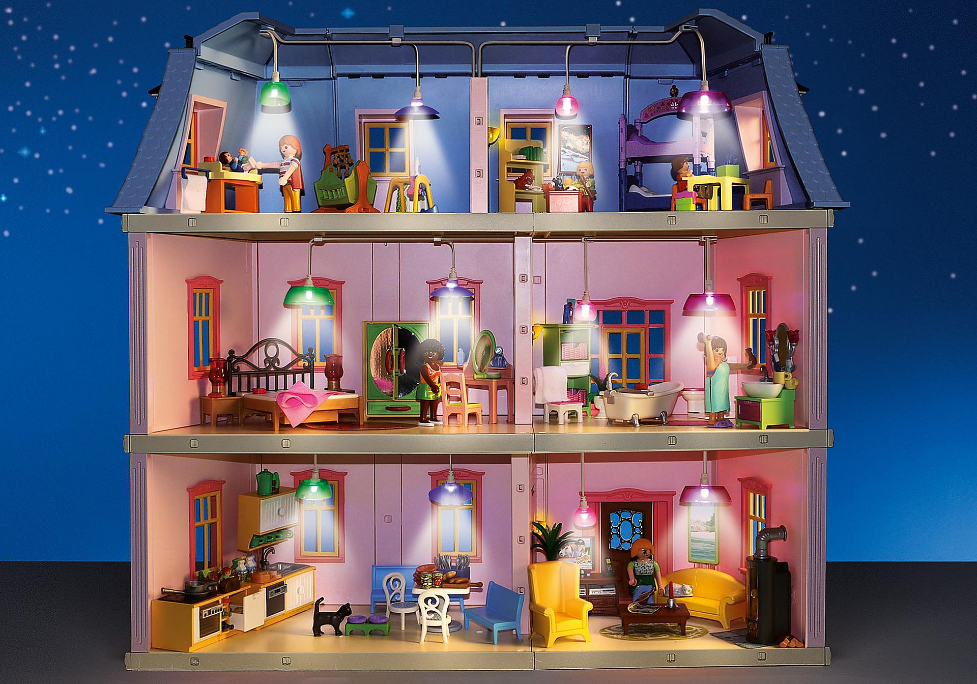6456 Light Set for Deluxe Dollhouse (5303) zoom image2