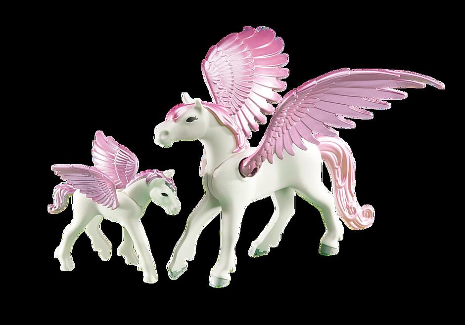 6461 Cavallo alato con puledro detail image 1