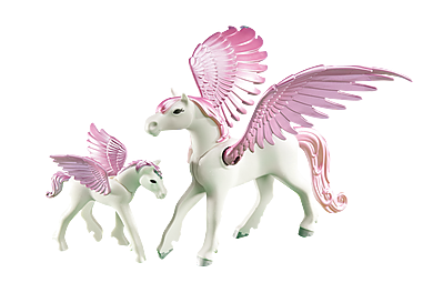 6461_product_detail/Pegasus med föl
