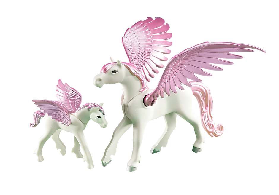 6461 Pegasus med føl detail image 1