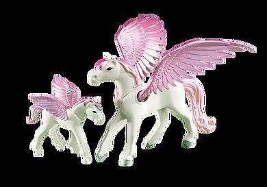 6461 Pegasus met veulen