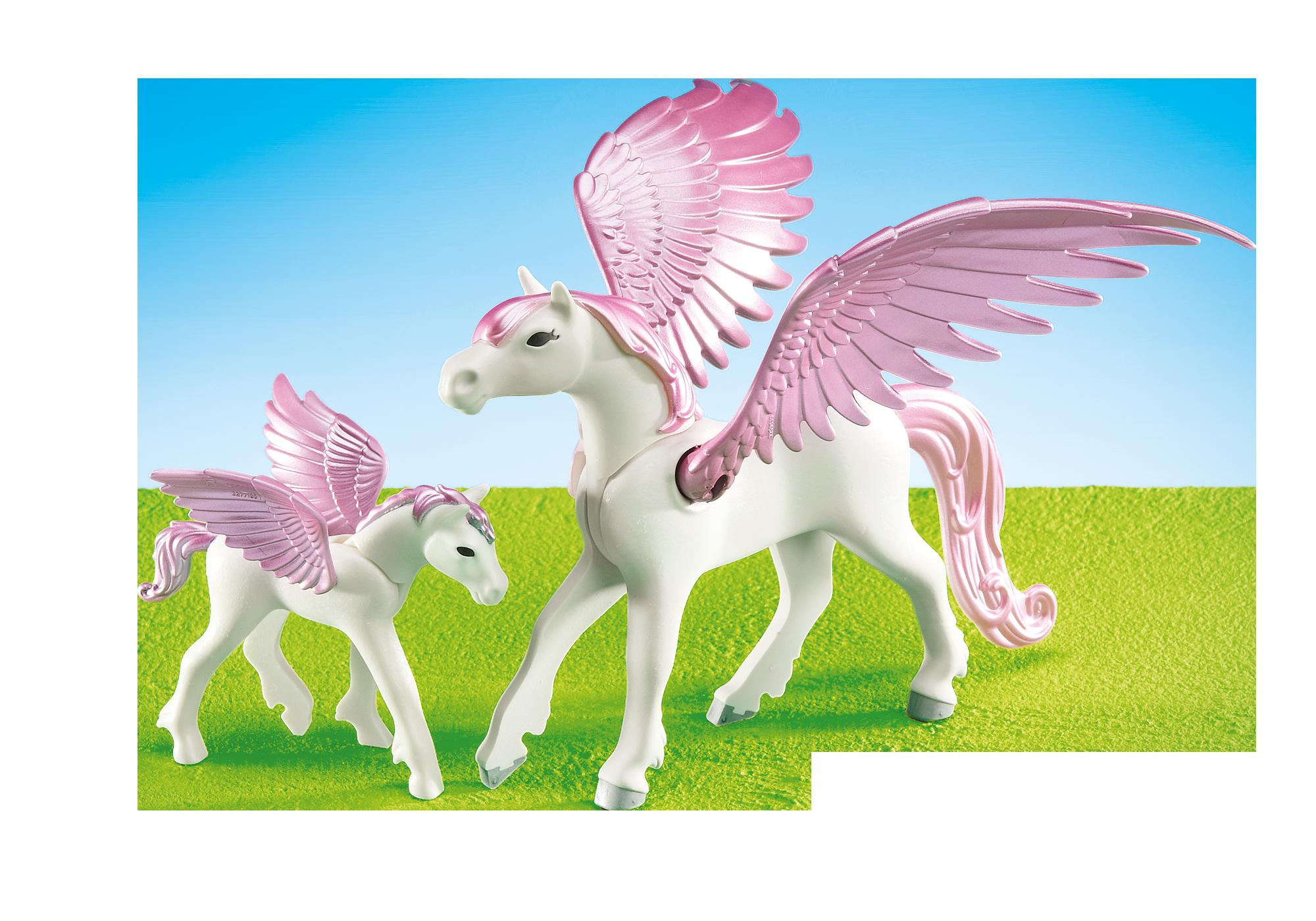 6461_product_detail/Pegasus met veulen