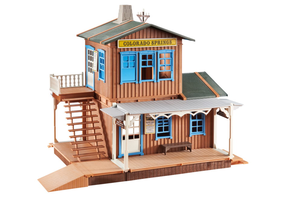 b timent du far west 6462 playmobil france. Black Bedroom Furniture Sets. Home Design Ideas