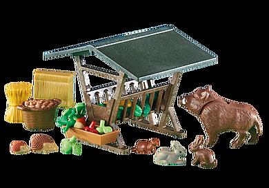 6470 Animali con mangiatoia