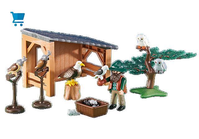 6471_product_detail/Fauconnier avec abri et faucons