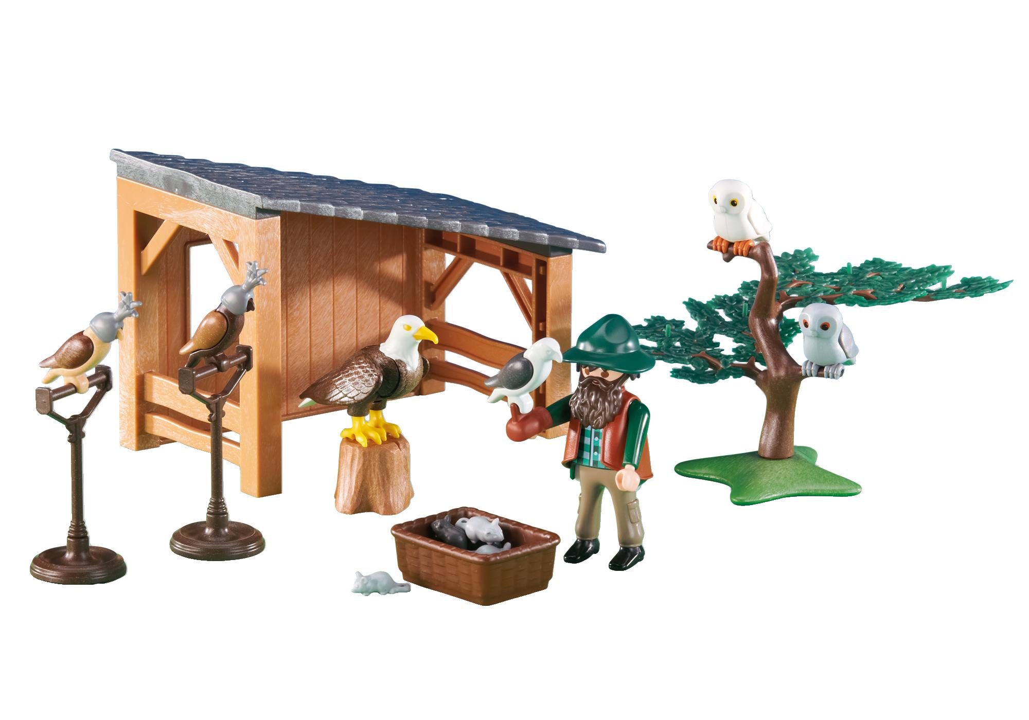 6471_product_detail/Valkenier met roofvogels