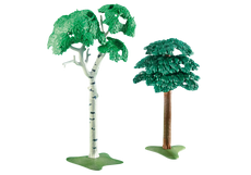 Playmobil 2 Deciduous Trees 6472