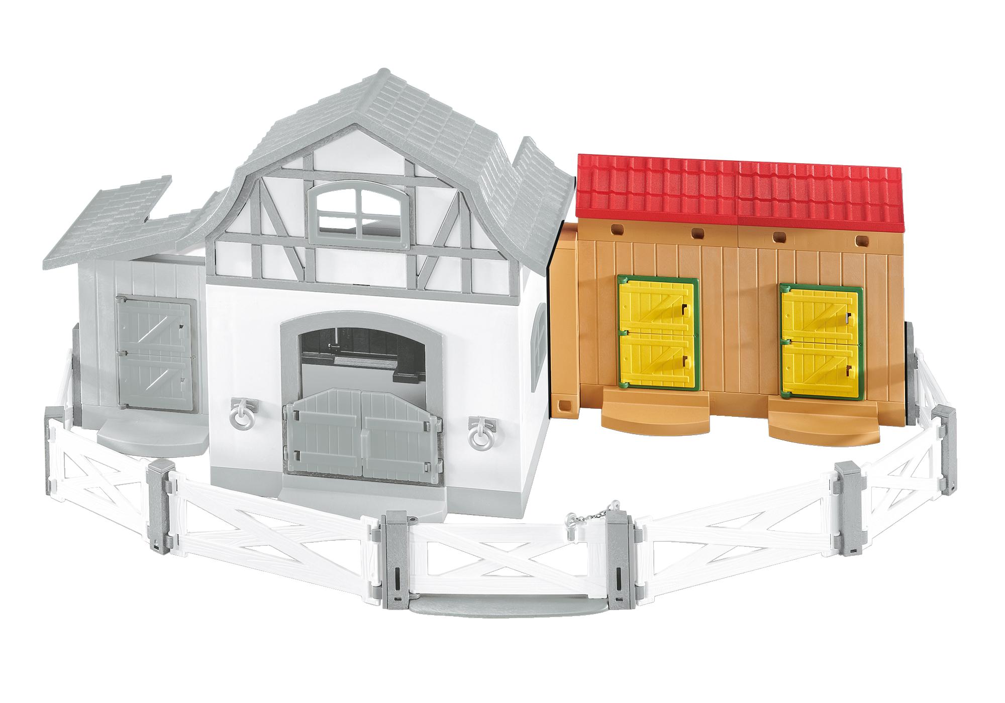 http://media.playmobil.com/i/playmobil/6474_product_detail/Extra stallen voor het Ponypark