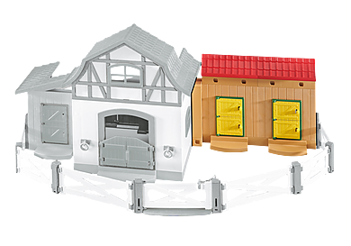 6474 Stable Extension for Pony Farm