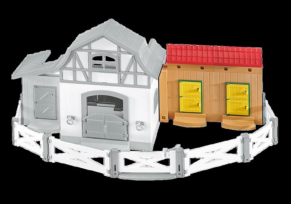6474 Stallutbyggnad till ponnygården detail image 1