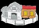 Stallutbyggnad till ponnygården