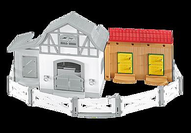 6474 Stallutbyggnad till ponnygården
