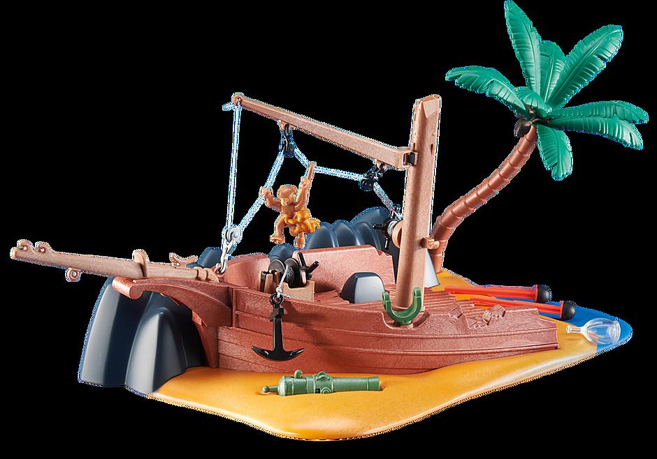 6481 Epave de bateau  avec canon detail image 1