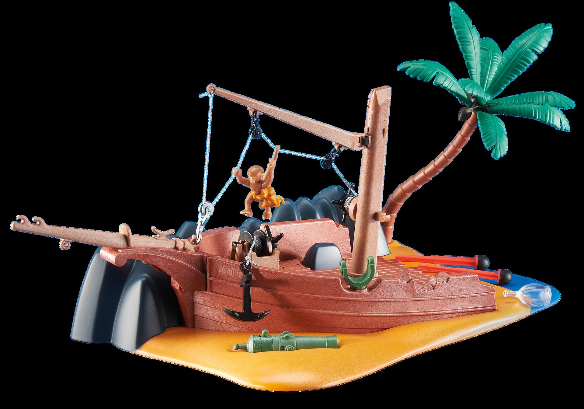 epave de bateau avec canon 6481 playmobil france. Black Bedroom Furniture Sets. Home Design Ideas
