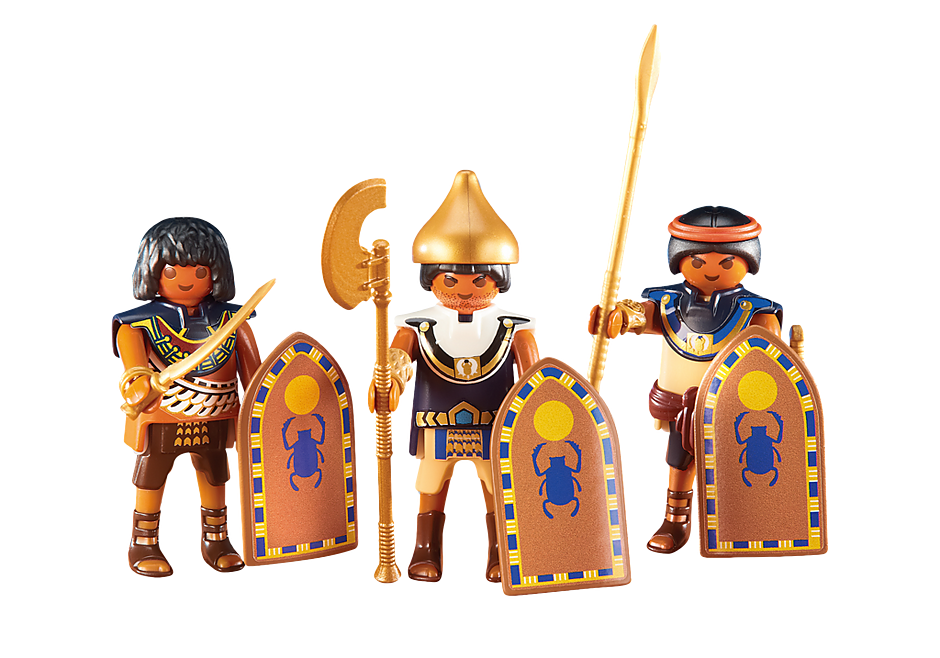 http://media.playmobil.com/i/playmobil/6488_product_detail/Τρεις Αιγύπτιοι στρατιώτες