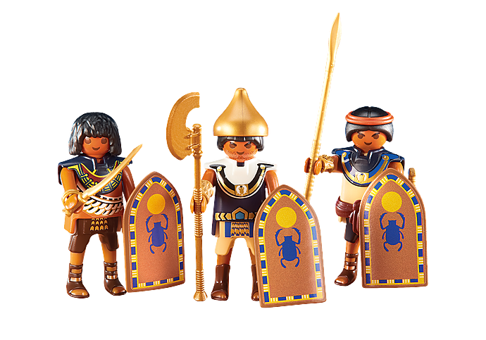 6488 3 Egyptian Soldiers