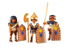 Playmobil 3 Egyptian Soldiers 6488