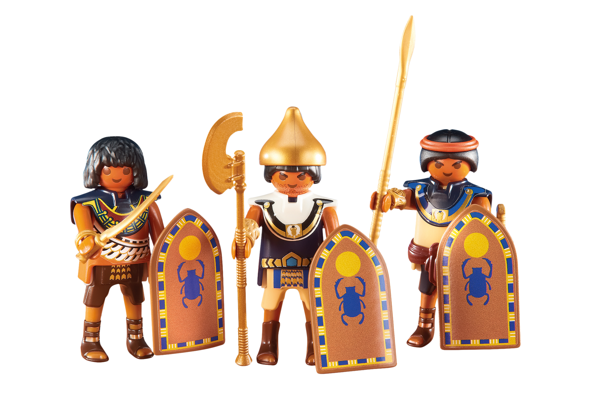 3 egyptian soldiers 6488 playmobil usa - Playmobil egyptien ...
