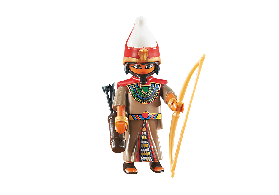 6489 Aanvoerder van Egyptische soldaten detail image 1