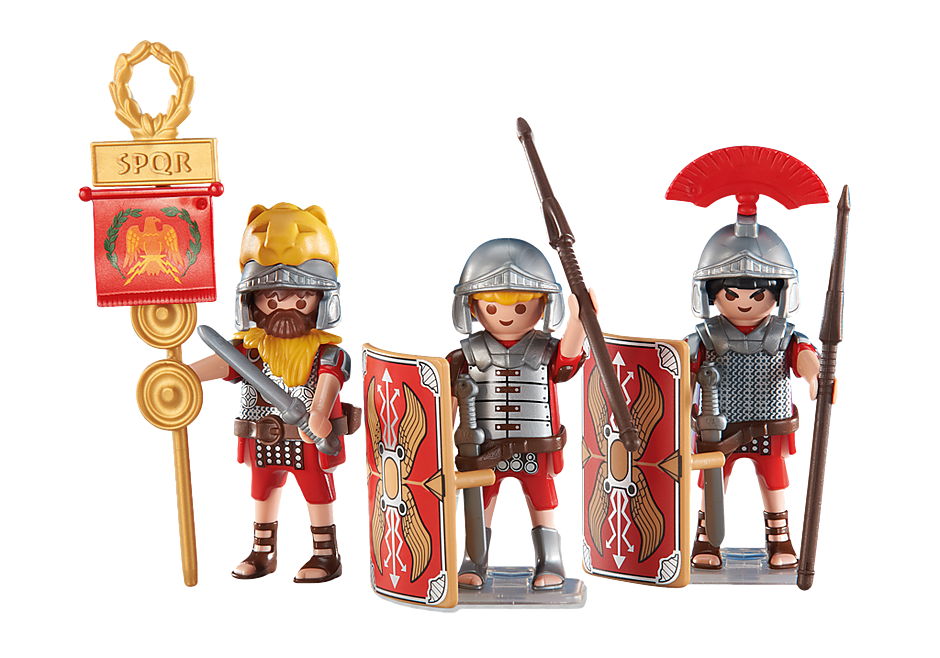 6490 3 romerske soldater detail image 1