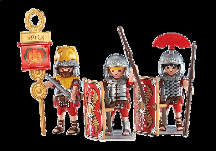 6490 3 romerske soldater