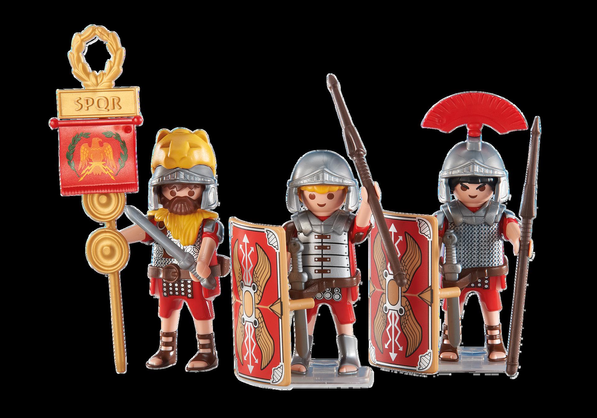 3 roman soldiers 6490 playmobil usa for Plaque pvc transparent pas cher