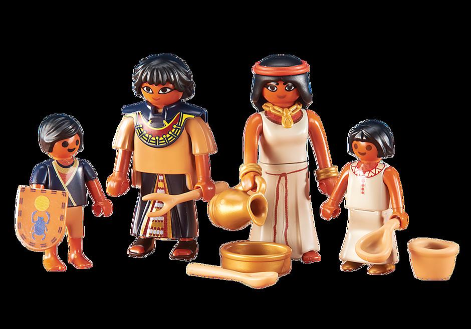 6492 Egyptische familie detail image 1