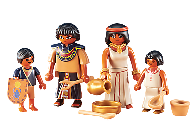 6492 Egyptische familie