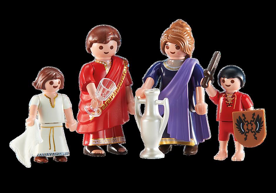6493 Familj med romare detail image 1