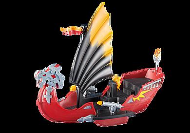 6497 Barco Dragão com Canhões