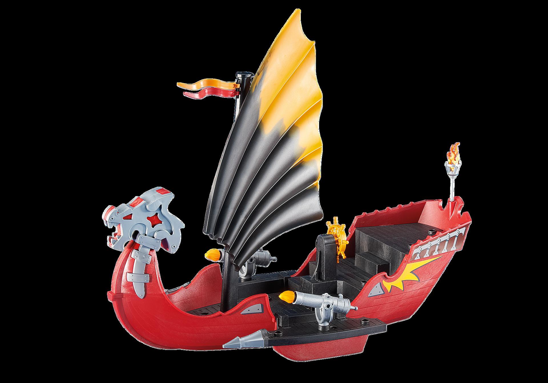 6497 Bateau Dragon avec canons zoom image1