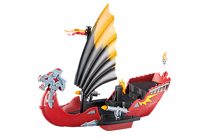 6497 Bateau Dragon avec canons