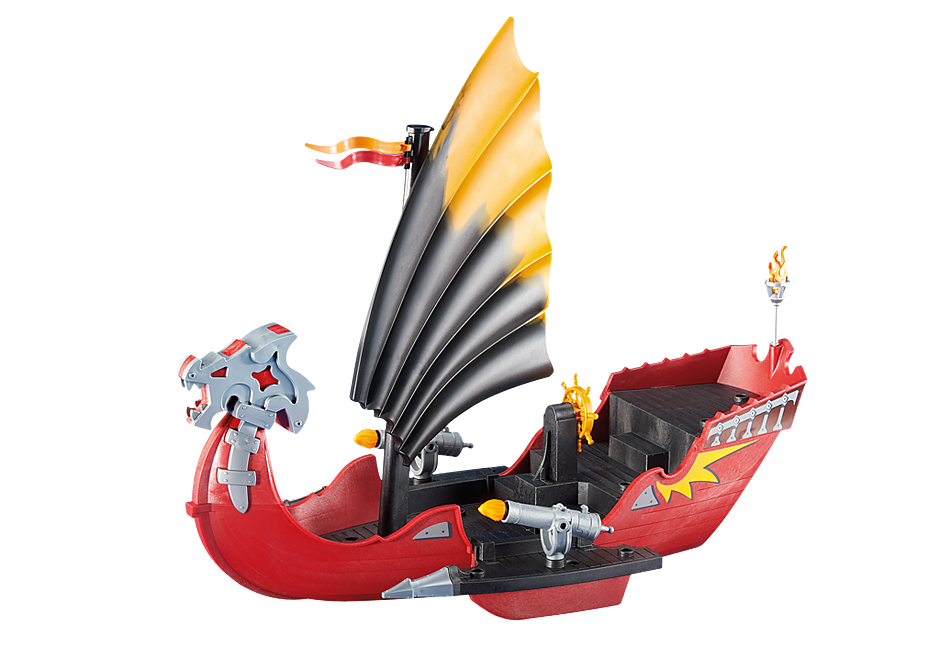 6497 Dragon Battle Ship detail image 1