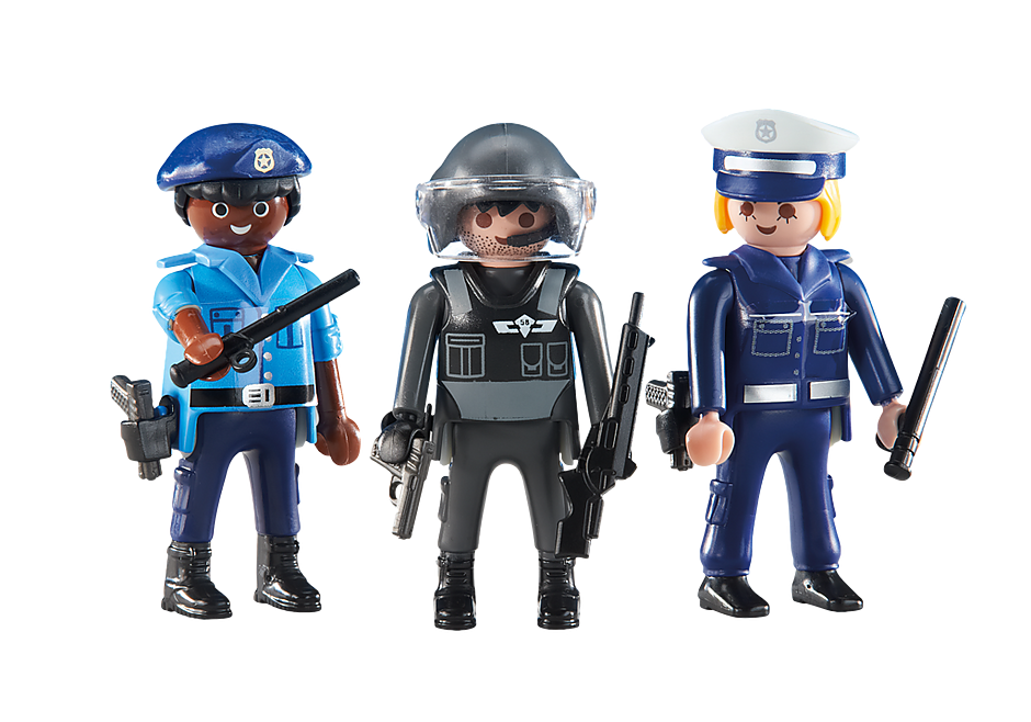 6501 Policemen and Policewoman detail image 1