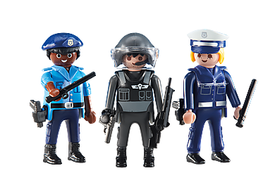 6501 Policemen and Policewoman