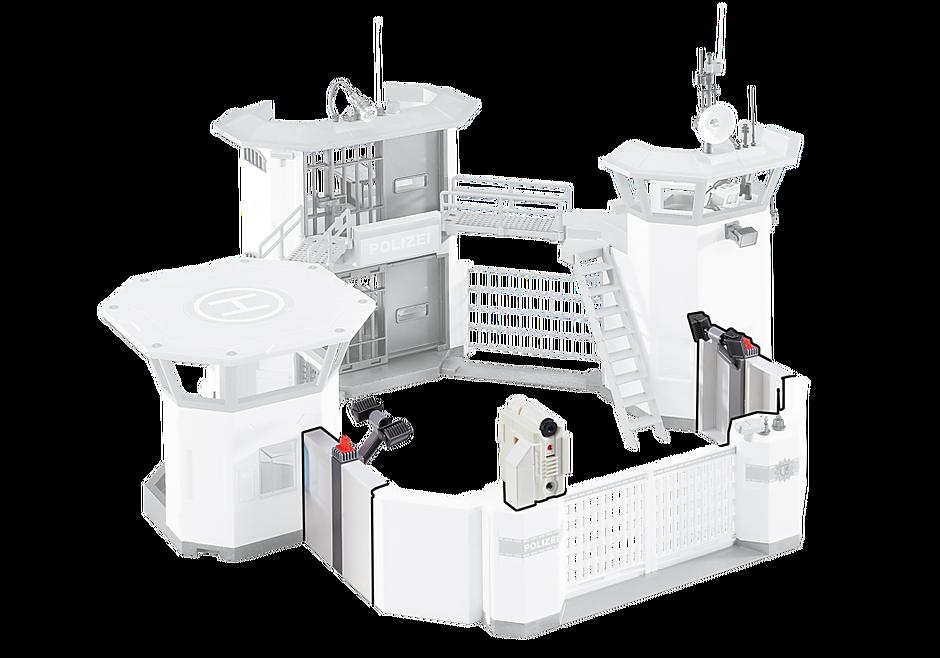 6503 Επέκταση για το Αρχηγείο της Αστυνομίας με φυλακή ασφαλείας detail image 1