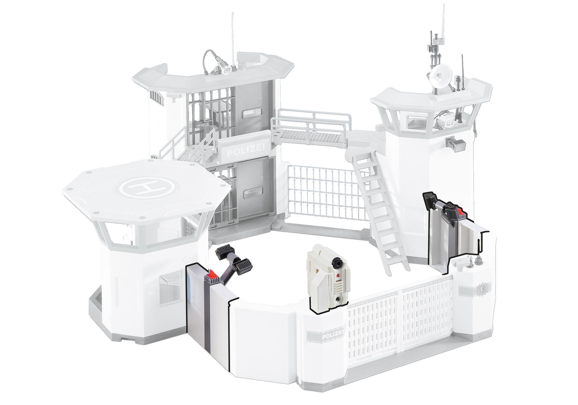 http://media.playmobil.com/i/playmobil/6503_product_detail/Ampliamento stazione di Polizia con sistemi d'allarme