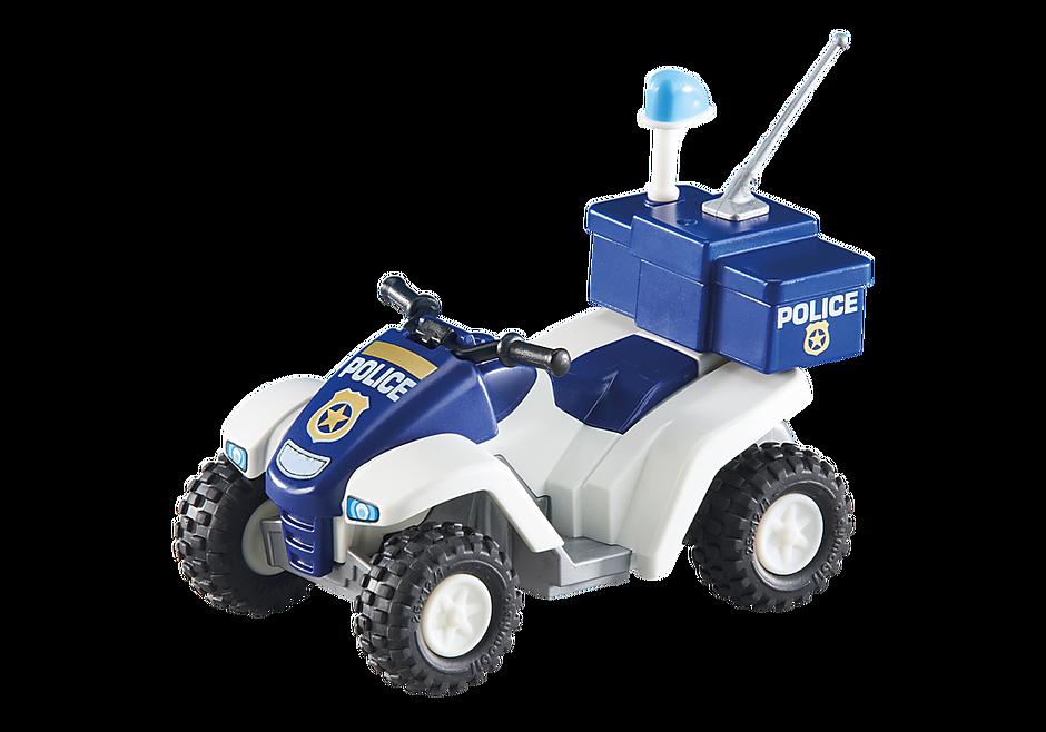 6504 Fyrhjuling och polis detail image 2