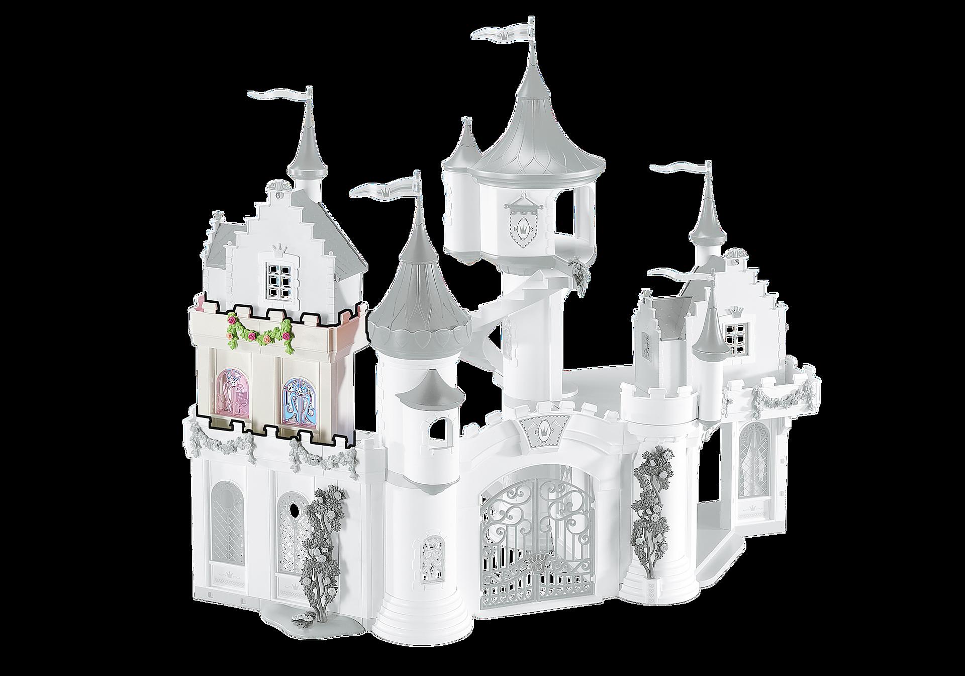 6518 Muret d'extension pour le Grand Château de Princesse zoom image1