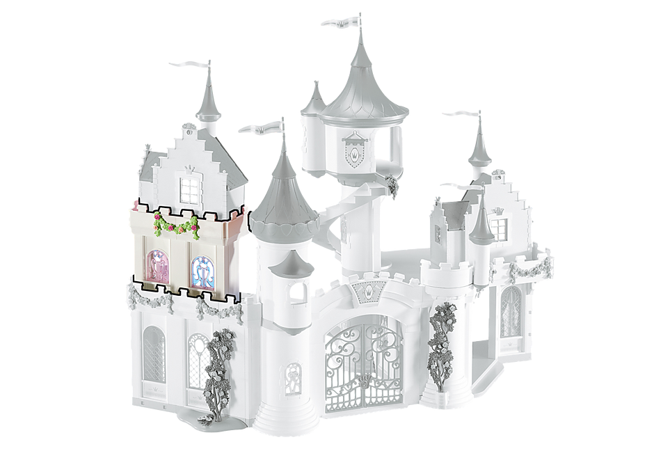 6518 uitbreidingsset A voor het koninklijk paleis detail image 1
