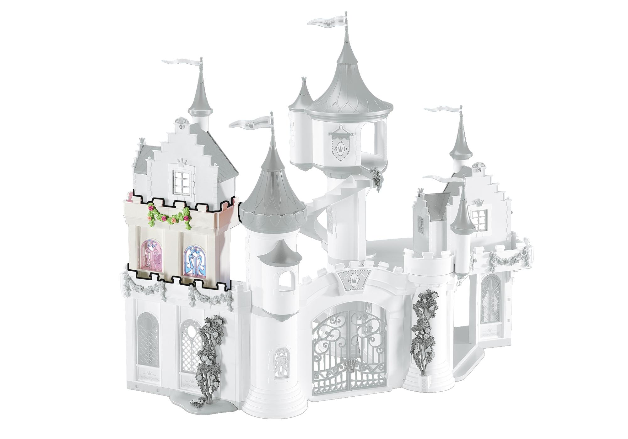 Muret d'extension pour le Grand Château de Princesse