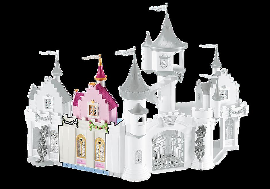 6519 Façade d'extension pour le Grand Château de Princesse detail image 1