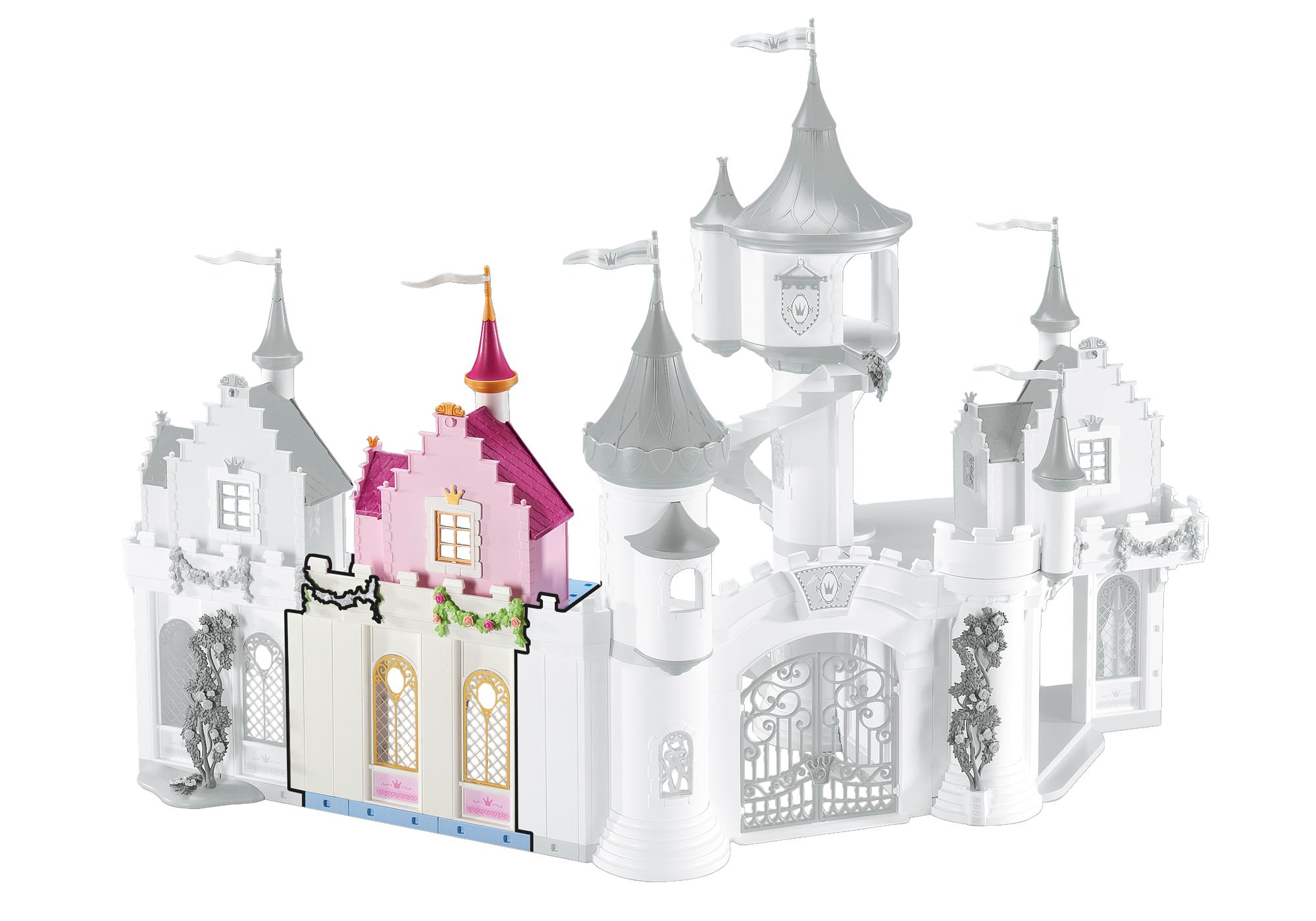 Façade Du0027extension Pour Le Grand Château De Princesse
