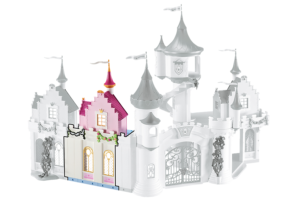 6519 uitbreidingsset B voor het koninklijk paleis detail image 1