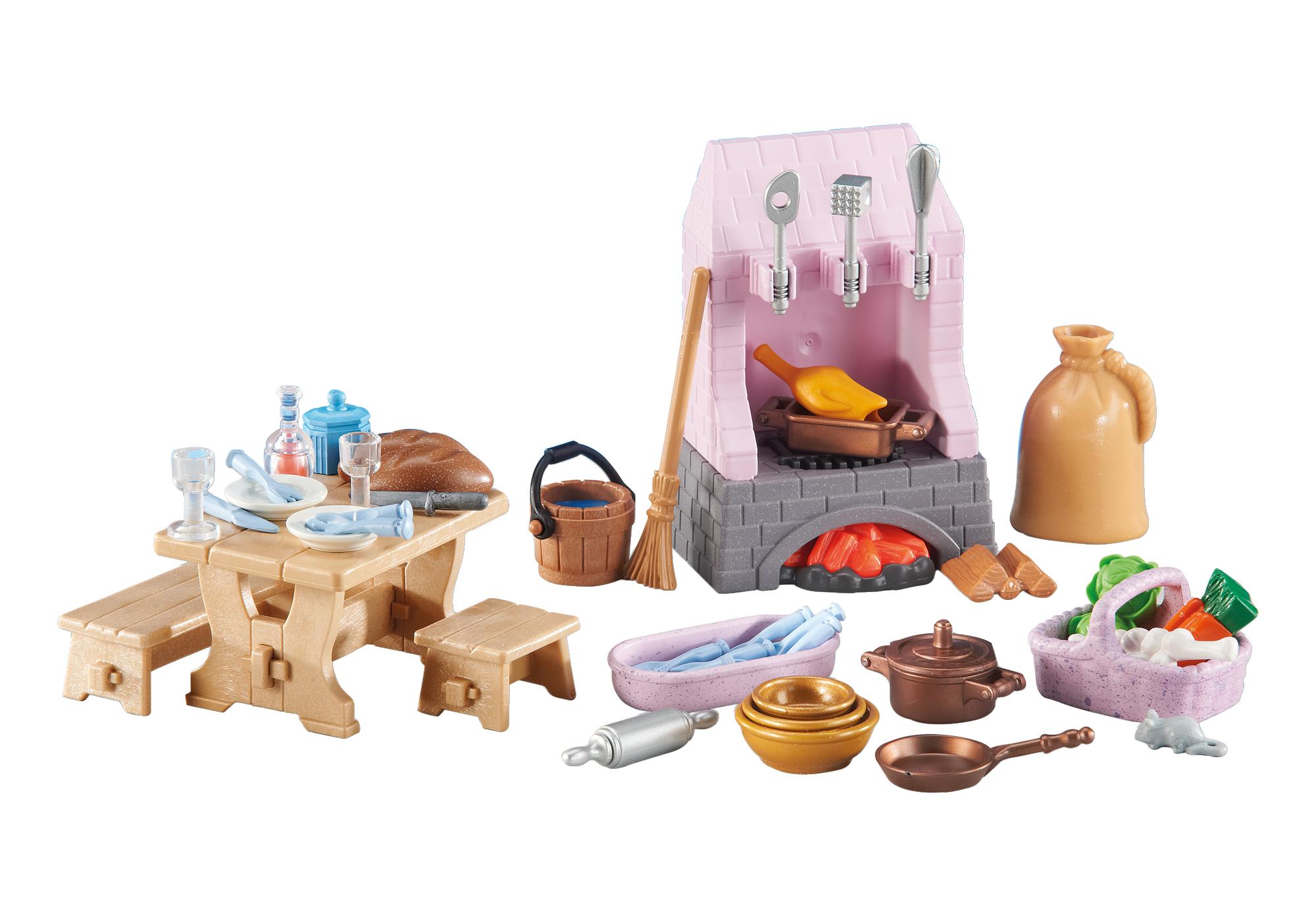 http://media.playmobil.com/i/playmobil/6521_product_detail/Adereços para a Cozinha do Palácio