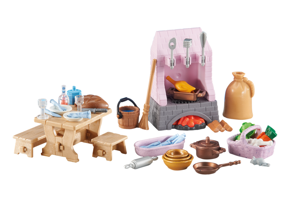 Castle kitchen 6521 playmobil usa for Cuisine playmobil