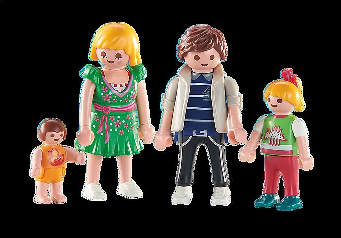 6530 Τετραμελής μοντέρνα οικογένεια