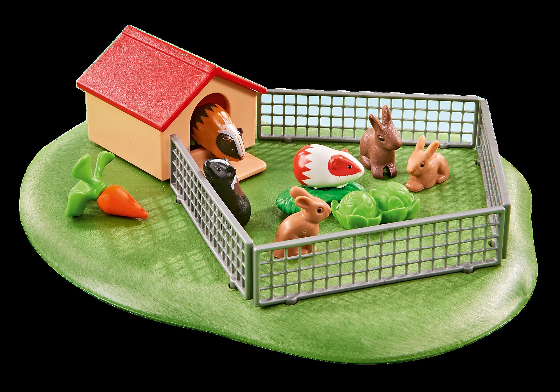 6531 Petits animaux avec enclos  zoom image1