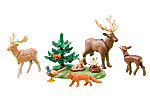 6532 Animales del Bosque