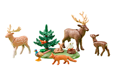 6532 Animali della Foresta